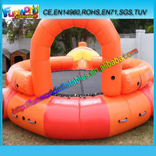 New Product Inflatable Water Trampoline for Sale