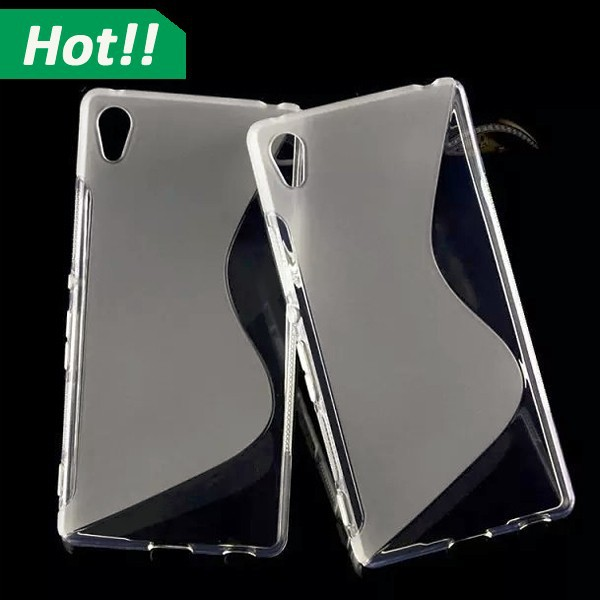 TPU Rubber Silicone Gel S Line Wave Case Cover For Sony Xperia Z4/mini