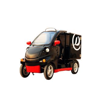 The newest 1 passenger electric vehicle mini cars logistic car