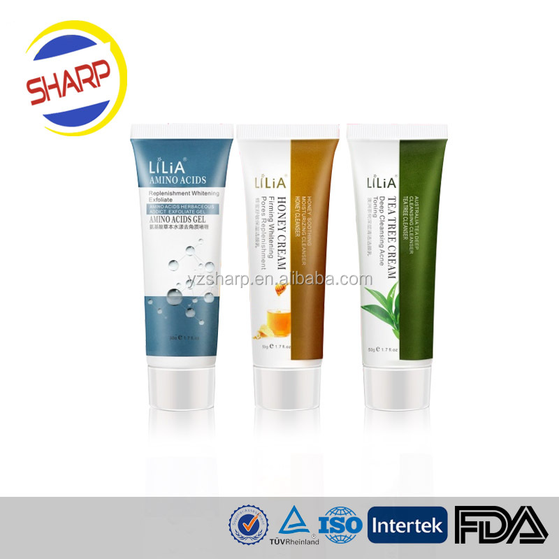 300ml Cosmetic Tubes with Flip Cover Used for Shaving Cream