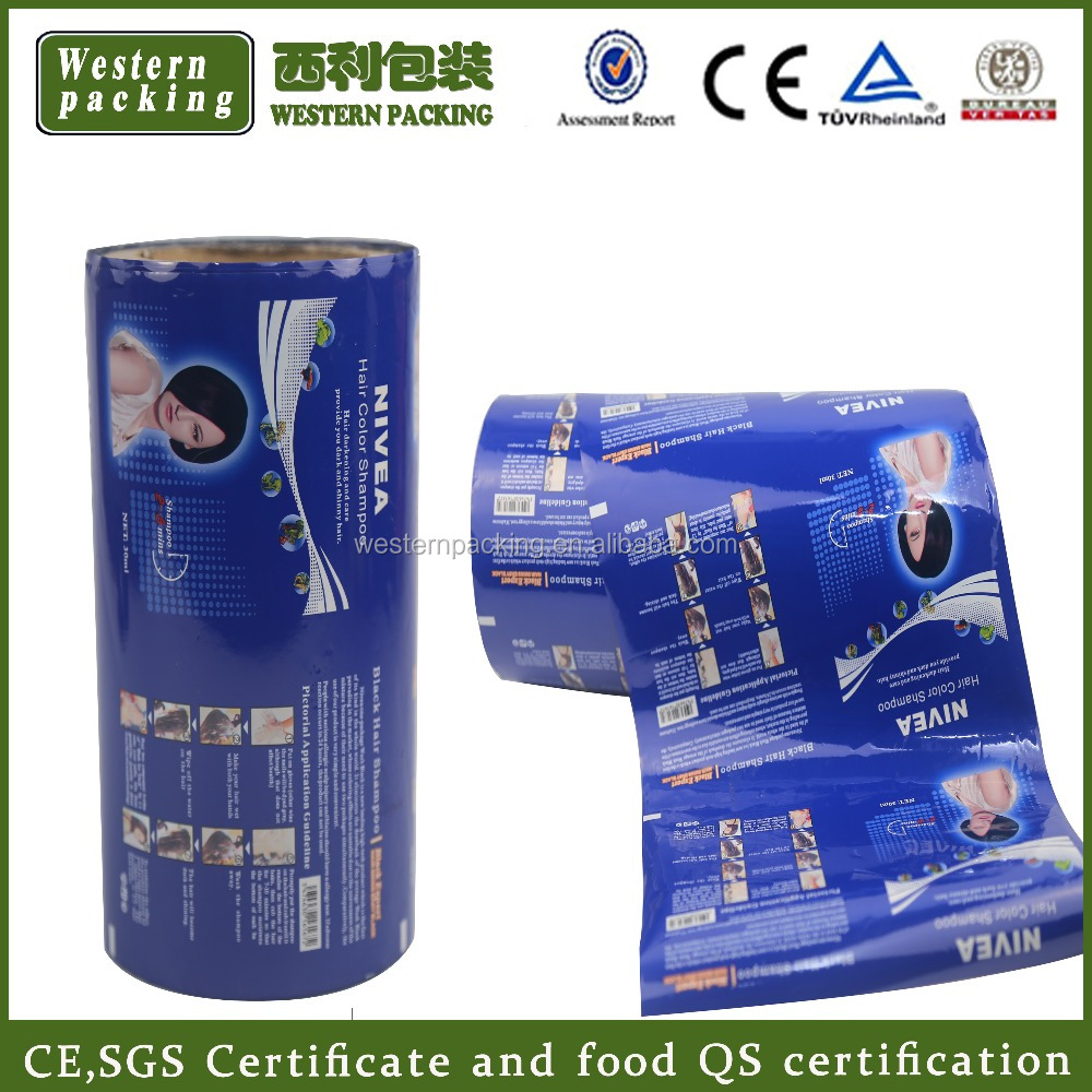 Customized laminated food packaging plastic printing roll film