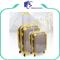 Waterproof soft pvc luggage cover clear plastic covers for suitcases