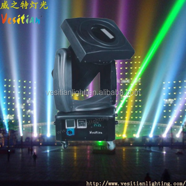china market of electronic Moving Head Changing Color Xenon 4000W High Beam Search Light