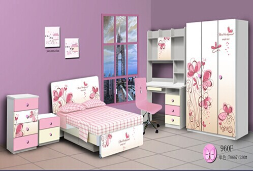 2015 hulubao best selling 960J MDF beautiful and comfortable children bedroom,kids bedroom furniture
