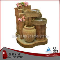 Customized round water fountain