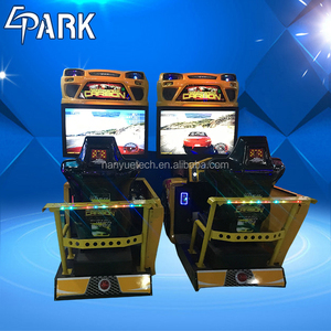 EPARK 42'' LCD Coin Operated ticket game machine Arcade Game racing car game console
