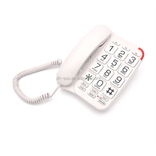 Speaker phone,Hearing aid Compatible Function big button fixed telephone