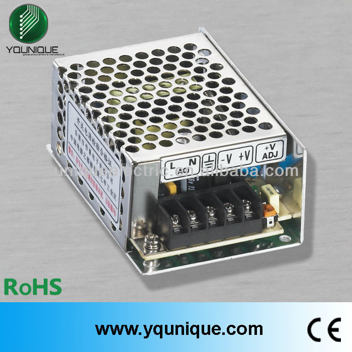 MS-25-24 CE ROHS 24V 25W Single output mini-size waterproof electronic led driver