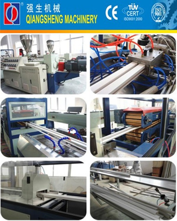 pvc wire duct machine manufacturer