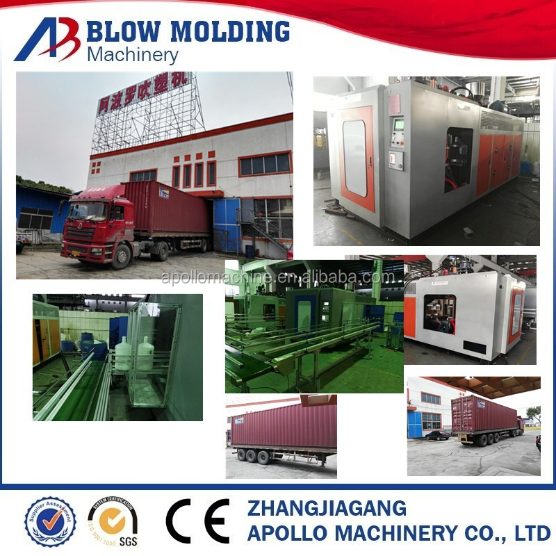 plastic oil pot making machine with level line