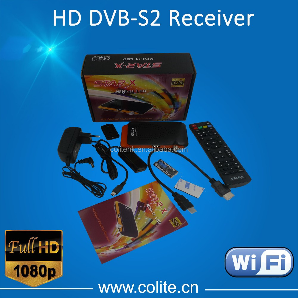 FTA(free to air) Mini HD Satellite Receiver Support USB PVR 1080P Video Record