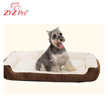 Cotton Luxury Pet Bed with Waterproof Bottom