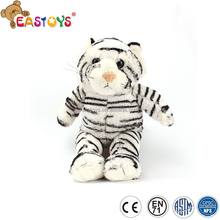 Chinese supplier soft animal toy stuffed white tiger plush toy