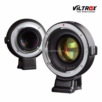 Quality-assured VILTROX EF-E Auto Focus Lens Adapter Kit for EF Mount to Enlarge Aperture and Reduce Focus