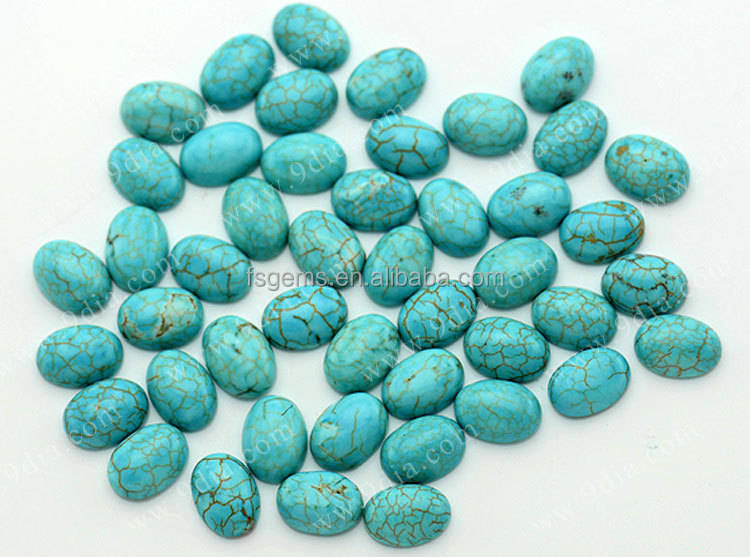 Wholesale Factory Prices Green Natural Turquoise Stones Beads
