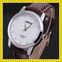 stainless steel back water resistant luxury quartz watch watch men 2016