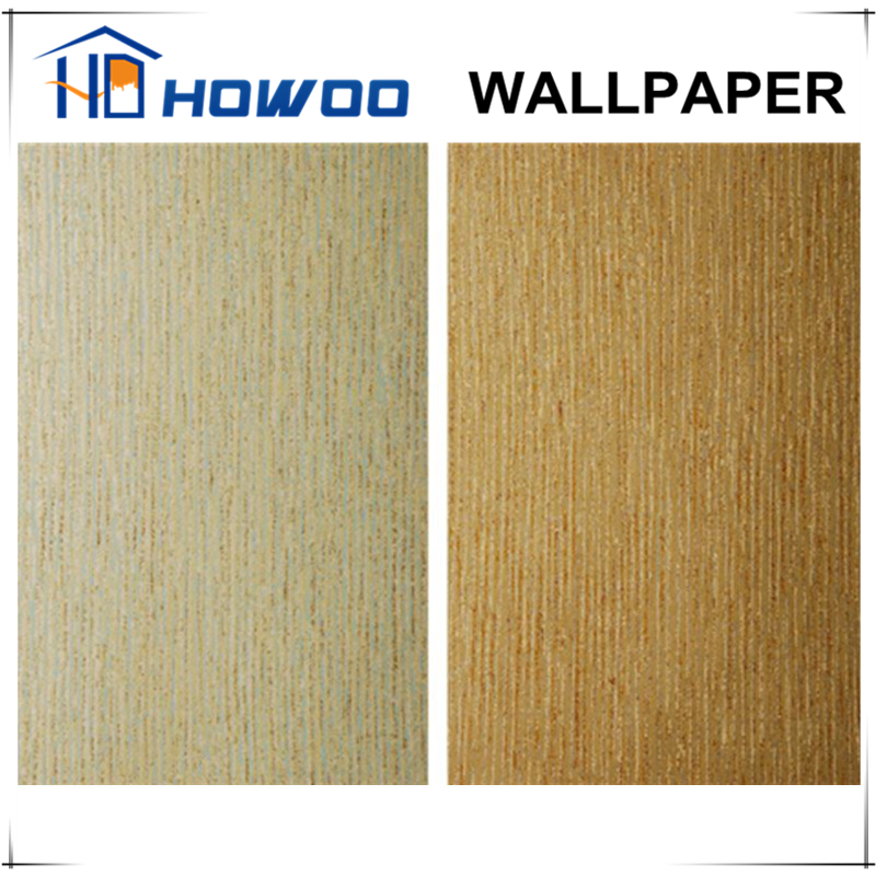 Howoo artistic design interior decor wood style wallpaper