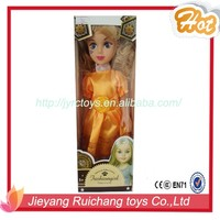 New arrival 14inch dress up doll toys in shantou china