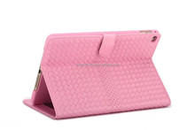 High Quality 360 Degree Rotating Flip Stand PU Leather Case For Ipad 6