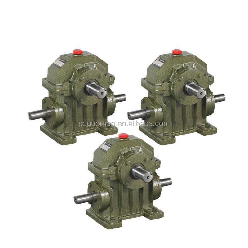 WPA right angle gear motor worm reduction gear box price