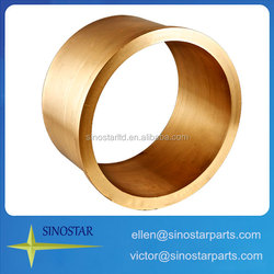bushings oilless brass plain bearing