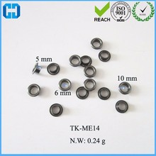 Wholesal Small Eyelets Screw Grommet Metal Eyelets For Leather