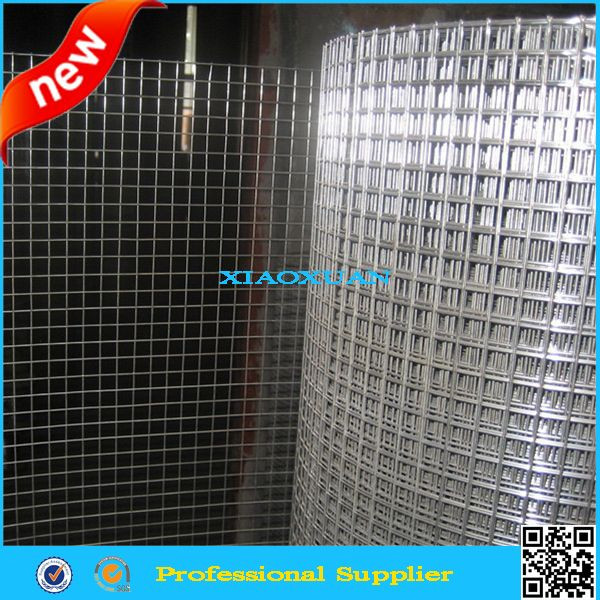 hot!! Salable lowest price galvanized & PVC Coated & Black &Stainless steel welded wire mesh (panel) for construction factroy