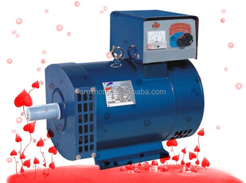 STC 10 KVA 100%Copper AVR Pulley Alternator 12KW 15KW 20KW 24KW 40KW