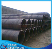 Spiral welded penstocks for water pipe project SSAW