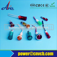 22mm 24V circuit breaker position red/green pilot lamp,led lamp,indicator light 24v led pilot lamp