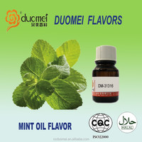 Mint fragrance oil based flavor artificial food grade flavor