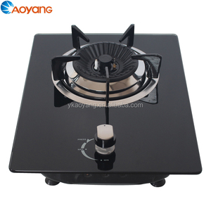 Tempered Glass Built-in Gas Stove Cooker Single Burner Gas Hob