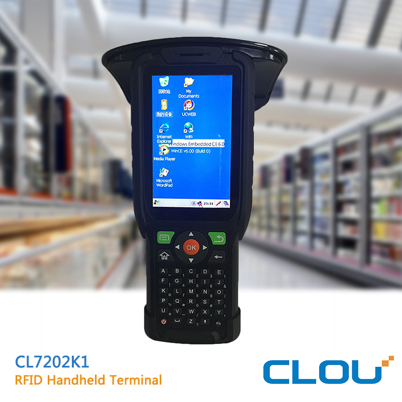Windows mobile handheld 2d barcode scanner pda with 3G WIFI GPRS