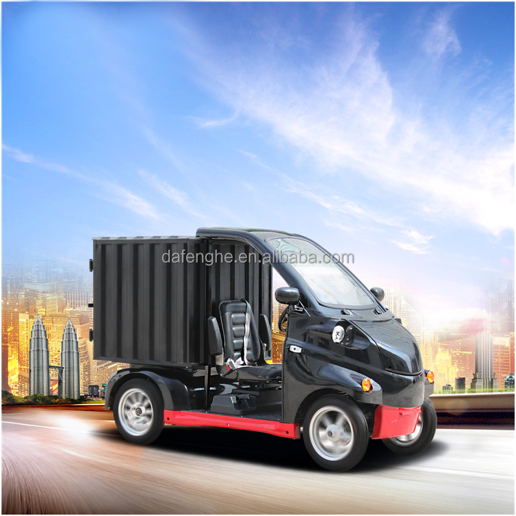 small electric cargo van cargo truck CE approved