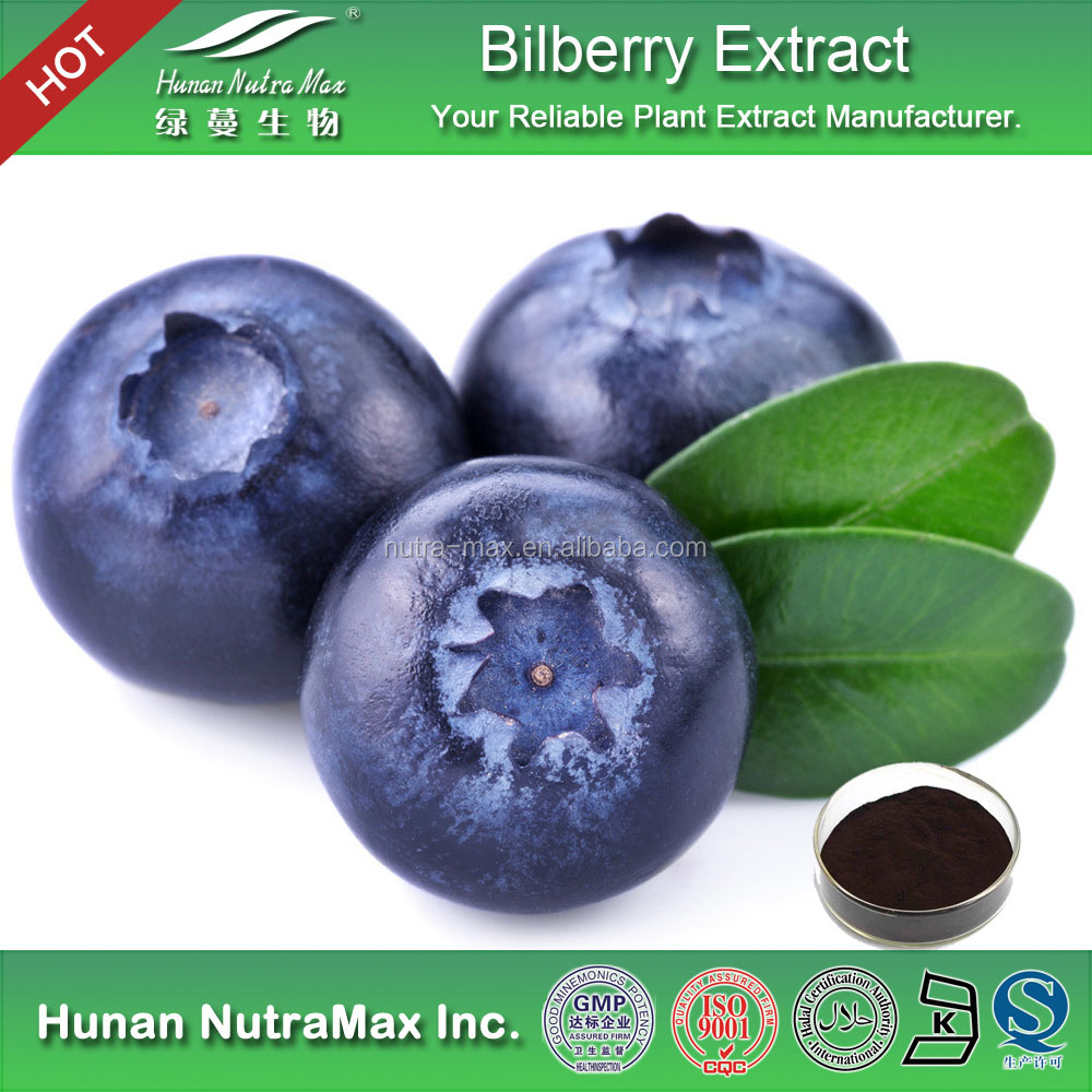 Anthocyanidins 25% Red Bilberry Fruit Extract Powder,Red Bilberry Fruit P.E.,Red Bilberry Fruit Extract