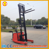 Brand Battery Operated Low Mast New Tracked Articulated Forklift