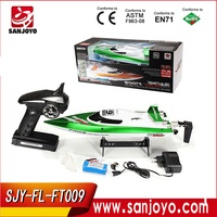 rc jet boats for sale High speed racing boat FT009 hobby model 4CH yacht 30km/h 2.4g rc speed boats (water cooling system)