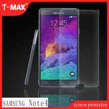 Wholesale 9H Anti-shock Premium tempered glass screen protector for Samsung Galaxy Note4,tempered glass screen protector machine