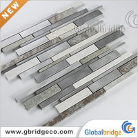 Foshan Factory Decorative Wall Aluminium Alloy Metal Tile Strip M8ATL&N133