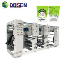 ASY-2800 gravure printing plastic film reel machine 2 colors
