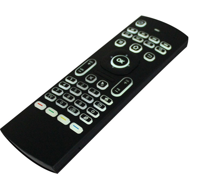 2019 Professional MX3-L 2.4g Air Mouse Backlit Somatosensory remote control made in China