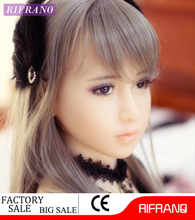 New product 148 cm japanese girl silicone tpe sex doll