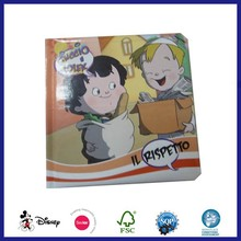 Cartoon Picture Printing Coloring Story Cardboard Book Printing