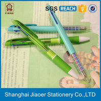 3 in 1 erasable plastic best ballpoint pen