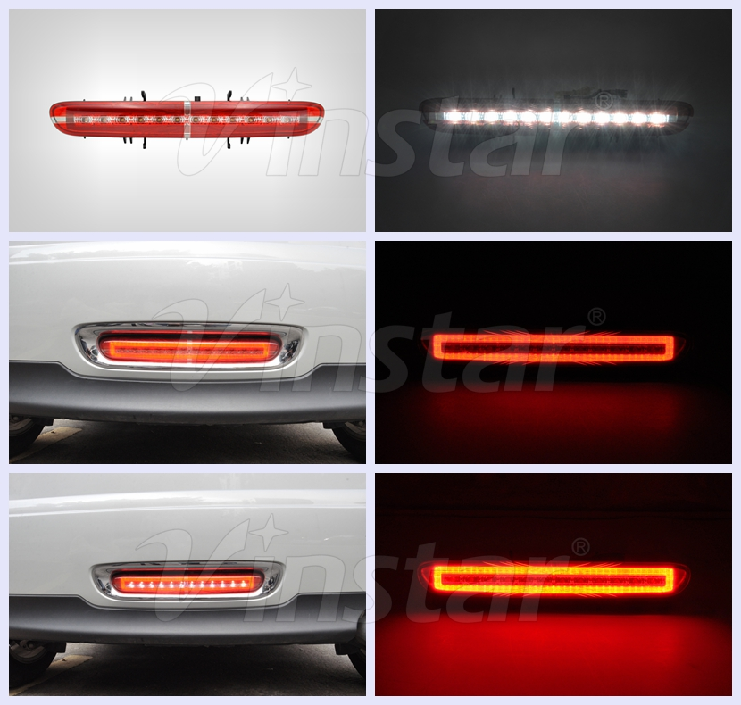 2009-2015 Mini auto parts LED Rear Light for Mini Cooper LED Rear Fog Lamp for Mini R56 R57 R58 R59 with CE & E4 R87 certificat