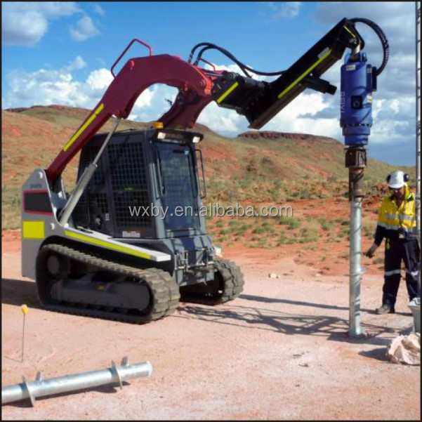 Hydraulic Static Pile Driver Ground Screw Driver Pile Driving Machine