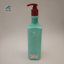 2017 new products color cosmetic hair product containers custom made 250ml plastic bottle