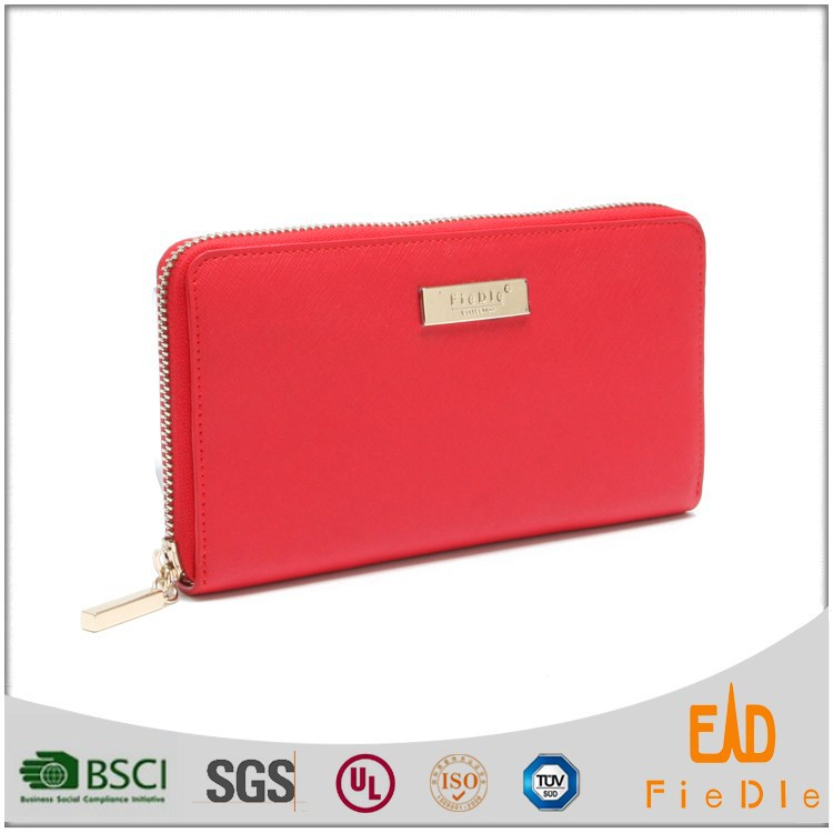 LJW5005-B3351-patent Genuine Leather Wallet Ladies Fashion European Leather Wallet For women