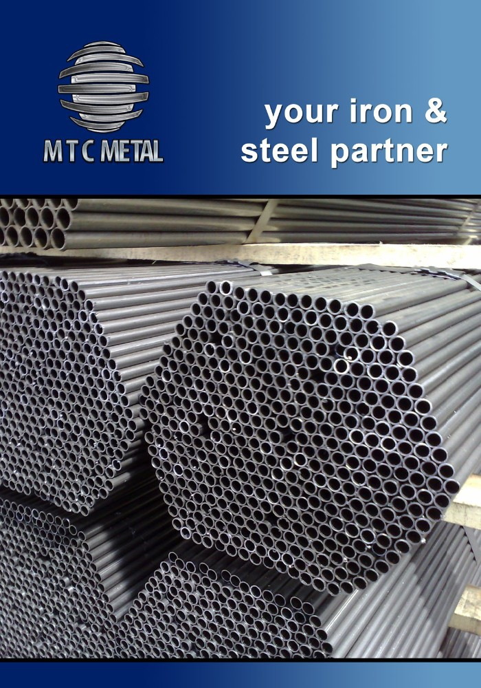 Round Pipe - Black and Galvanized Tubes