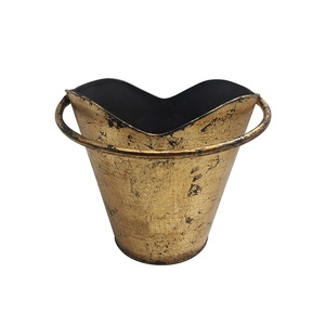 Garden Copper color antique zinc Steel pots Planter